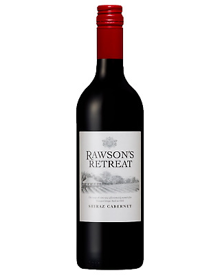 Rawson's Retreat Shiraz Cabernet case of 6 Dry Red Wine 750mL