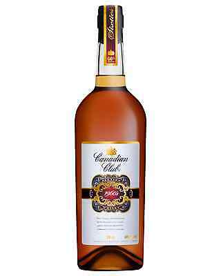 Canadian Club 1960s Whisky 750mL case of 3 Canadian Whisky Blended Whisky