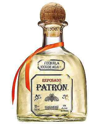 Patr&oacuten Reposado Tequila 700mL bottle