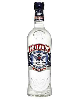 Poliakov Vodka 700mL case of 6