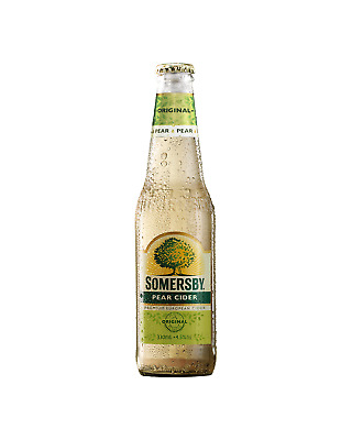 Somersby Pear Cider Bottles 330mL case of 24 Pear/Perry Cider