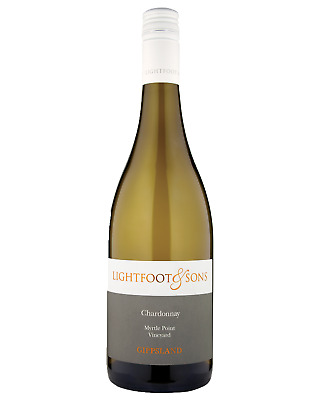 Lightfoot & Sons Chardonnay case of 12 Dry White Wine 750mL Gippsland