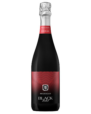 McGuigan Black Label Sparkling Shiraz case of 6 Sparkling Red Wine Non Vintage*
