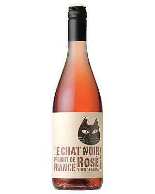Le Chat Noir Rose bottle Red Blend Rosé Wine 750mL