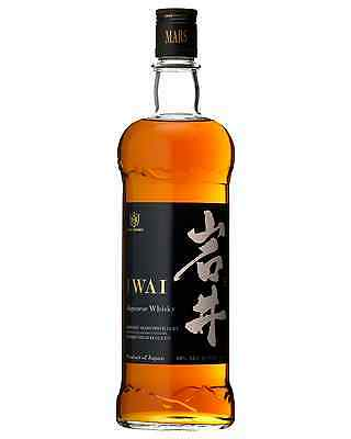 Mars Iwai Bourbon Barrel Japanese Whisky 750mL case of 6 Blended Whisky