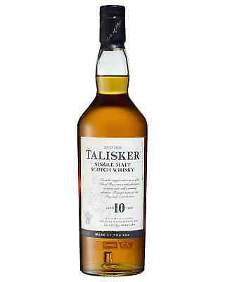 Talisker 10 Year Old Scotch Whisky 700mL bottle Single Malt Highland