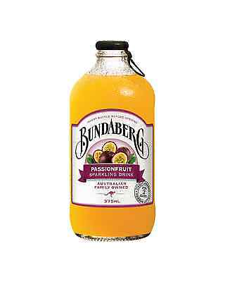 Bundaberg Passionfruit 375mL case of 24 Soft Drinks