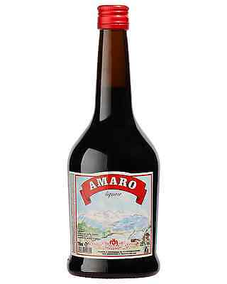 Lazzaroni Amaro 700mL case of 6 Liqueur Herbal Liqueurs
