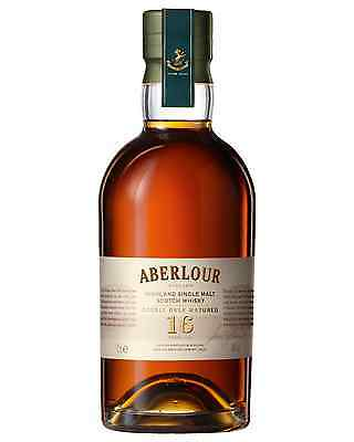 Aberlour 16 Year Old Double Cask Scotch Whisky 700mL case of 3 Single Malt