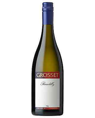 Grosset Piccadilly Chardonnay case of 12 Dry White Wine 2013* 750mL