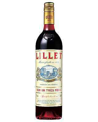 Lillet Rouge Aperitif 750mL case of 6