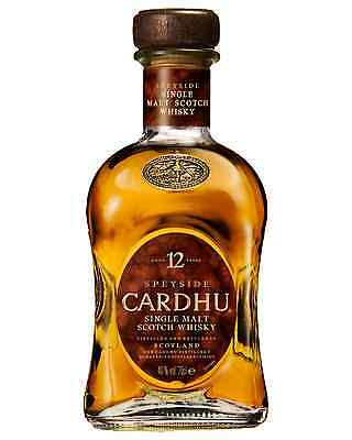 Cardhu 12 Year Old Scotch Whisky 700mL case of 6 Single Malt Speyside