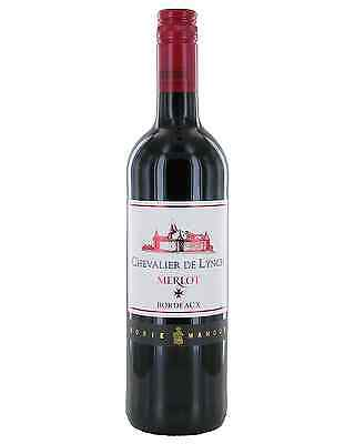 Chevalier De Lynch Bordeaux Merlot bottle Dry Red Wine 750mL
