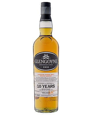 Glengoyne 10 Year Old Scotch Whisky 700mL bottle Single Malt Highland