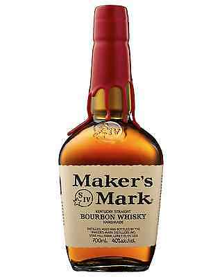 Maker's Mark Kentucky Straight Bourbon Whisky 700mL case of 6 American Whiskey