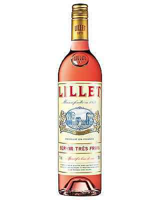 Lillet Rose Aperitif bottle 750mL