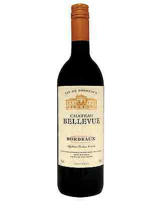 Chateau Bellevue Bordeaux Château Bellevue bottle Red Blend Dry Red Wine 750mL