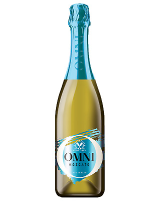 Omni Blue Moscato case of 6 Sparkling Sweet Wine 750mL