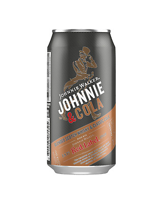 Johnnie Walker Red Label & Cola Cans 375mL case of 24 Scotch Whisky