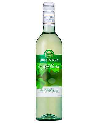 Lindeman's Early Harvest Semillon Sauvignon Blanc case of 6 Dry White Wine 750mL