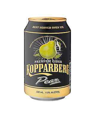 Kopparberg Pear Cider Can 330mL case of 20