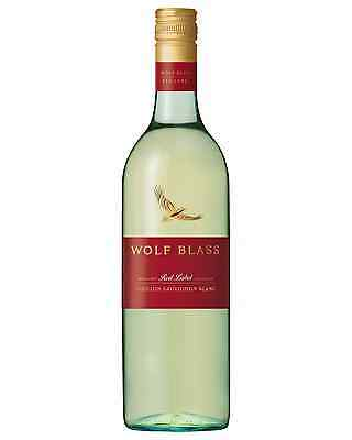 Wolf Blass Red Label Semillon Sauvignon Blanc case of 6 Dry White Wine 750mL