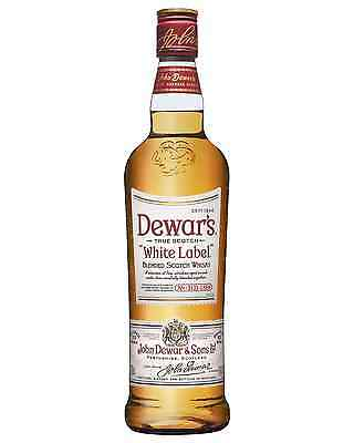 Dewar's White Label Scotch Whisky 700mL case of 6 Blended Whisky Perthshire