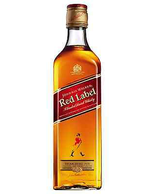 Johnnie Walker Red Label Scotch Whisky 700mL case of 12 Blended Whisky