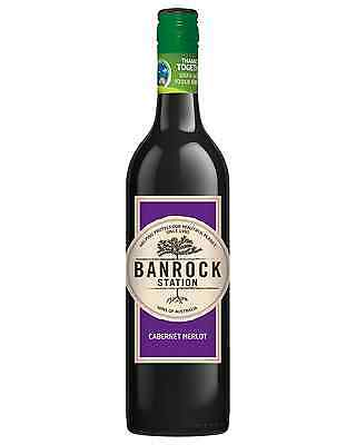 Banrock Station Cabernet Merlot bottle Dry Red Wine 750mL