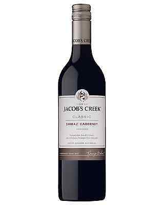 Jacob's Creek Shiraz Cabernet case of 6 Dry Red Wine 750mL