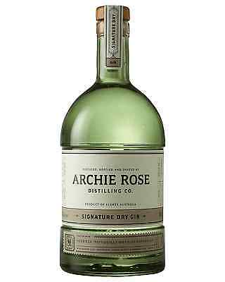 Archie Rose Distilling Co. Signature Dry Gin 700mL case of 6