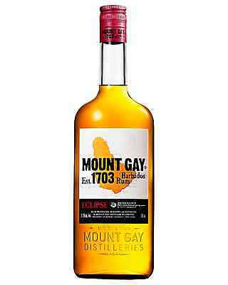 Mount Gay Eclipse Rum 700mL bottle Dark Rum