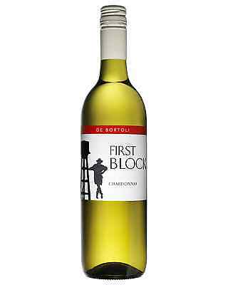 De Bortoli First Block Chardonnay bottle Dry White Wine 750mL