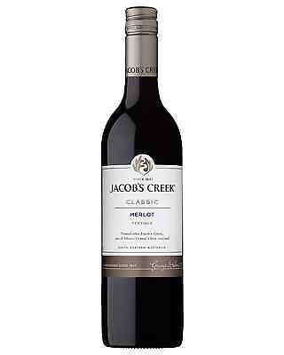 Jacob's Creek Merlot bottle Dry Red Wine 750mL