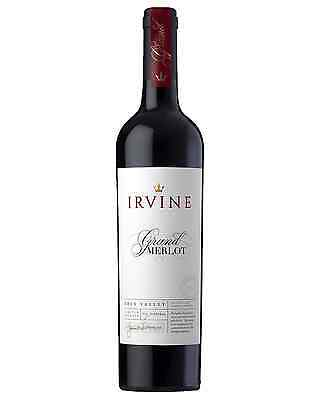 Irvine Grand Merlot case of 6 Dry Red Wine 750mL Eden Valley