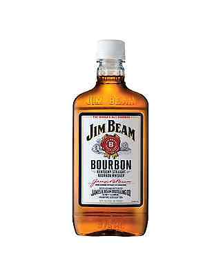 Jim Beam White Label Bourbon 375mL case of 24 American Whiskey