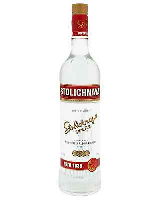 Stolichnaya Vodka 700mL case of 6