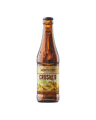 Monteith's Crushed Pear Cider 330mL case of 24 Pear/Perry Cider