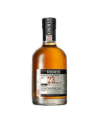Kininvie 23 Year Old Single Malt Scotch Whisky 2015 350mL case of 6 Speyside