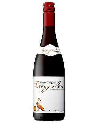 Pierre Naigeon Beaujolais bottle Gamay Dry Red Wine 750mL Burgundy