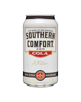 Southern Comfort & Cola Cans 375mL case of 24 Liqueur Whisky Liqueurs