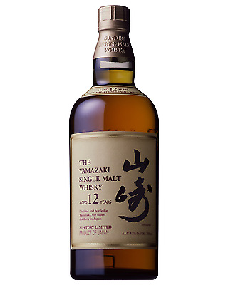 Yamazaki 12 Year Old Whisky 700mL bottle Japanese Whisky Single Malt