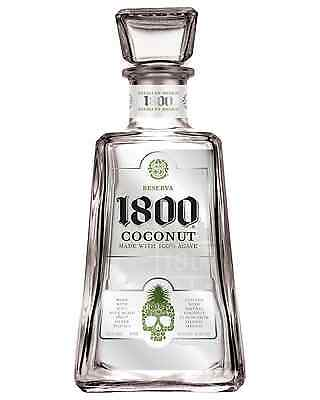 1800 Coconut Tequila 750mL bottle Flavoured