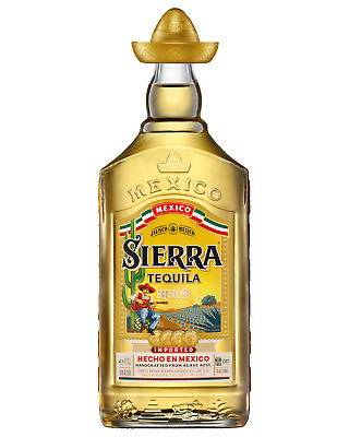 Sierra Gold Tequila 700mL case of 6 Reposado