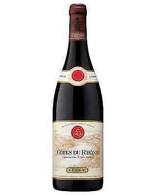 Guigal Cotes du Rhone bottle Grenache Shiraz Mourvèdre Dry Red Wine 750mL