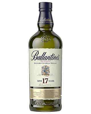 Ballantine's 17 Year Old Scotch Whisky 700mL case of 6 Blended Whisky
