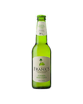 Frank's Premium Summer Pear Cider 330mL case of 24 Pear/Perry