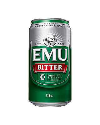 Emu Bitter Cans 30 Block 375mL case of 30 Australian Beer - Everyday Lager