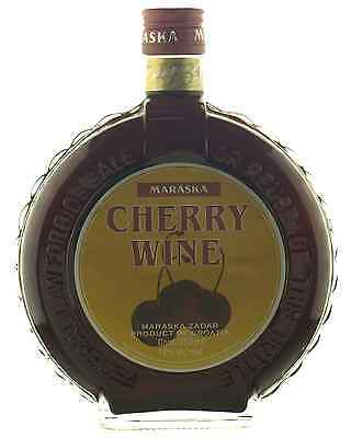 Maraska Cherry Wine 750mL case of 6 Liqueur Fruit Liqueurs