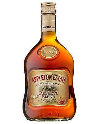 Appleton Estate Reserve Jamaica Rum 700mL case of 6 Dark Rum